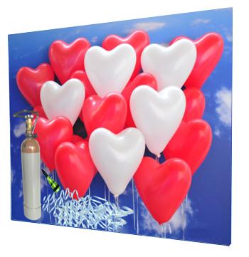 Ballons-zur-Hochzeit-Helium-Mehrweg-Set-mit-30-roten-und-weissen-Herzballons