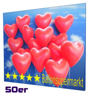Ballons-zur-Hochzeit-Helium-Mehrweg-Set-mit-50-roten-Herzballons