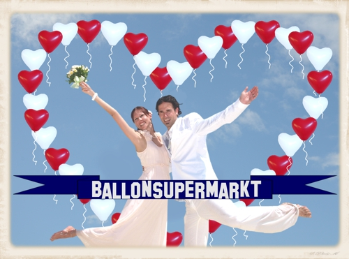Ballons Hochzeit Ballonsupermarkt