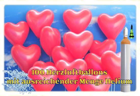 100-Herzluftballons-mit-ausreichender-Menge-Helium-Luftballons-zur-Hochzeit-steigen-lassen